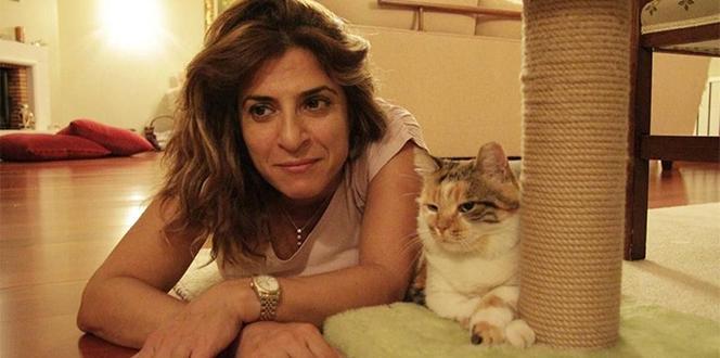 Ekranların sevilen kedisi Zümrüt Şaziye sokak hayvanlarına yardım götürüyor