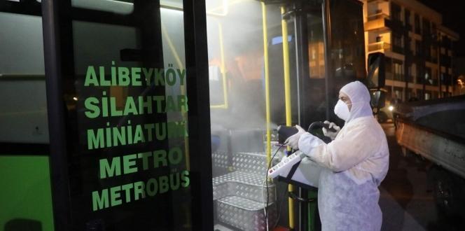 Eyüpsultan Belediyesi korona virüse karşı tedbirlerini alıyor